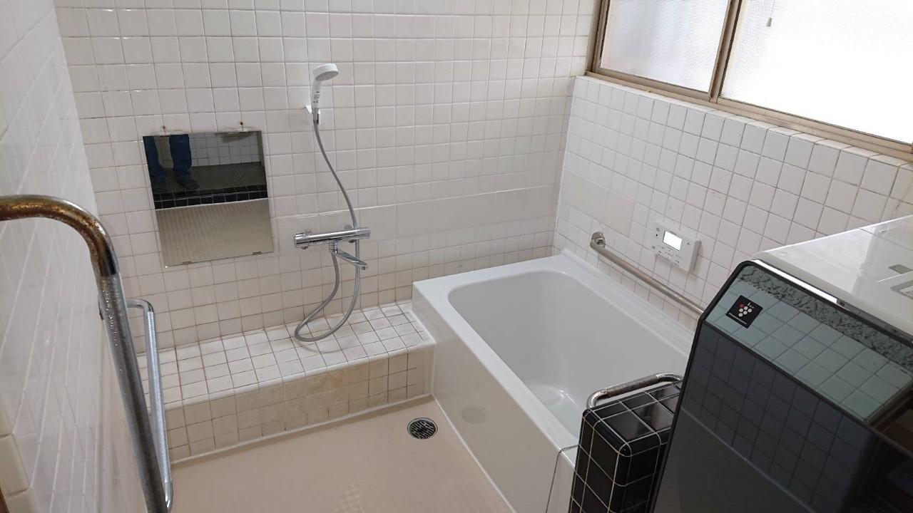 熊本市南区 浴室改修工事